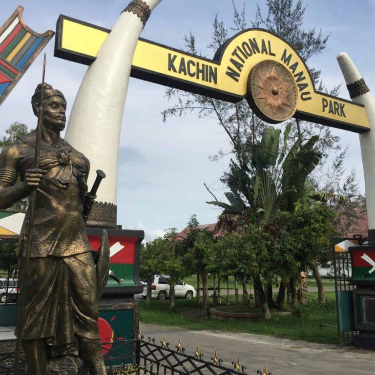Gateway to Kachin National Manau Park.