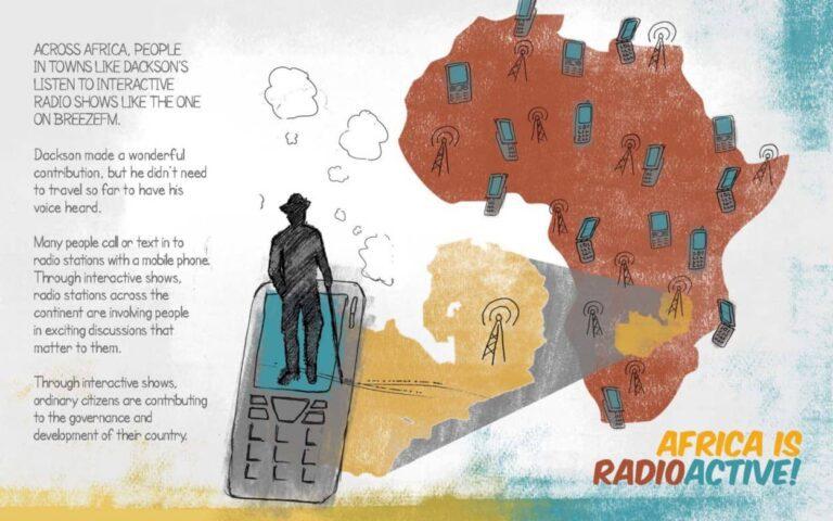 Flyer: Africa is Radioactive!