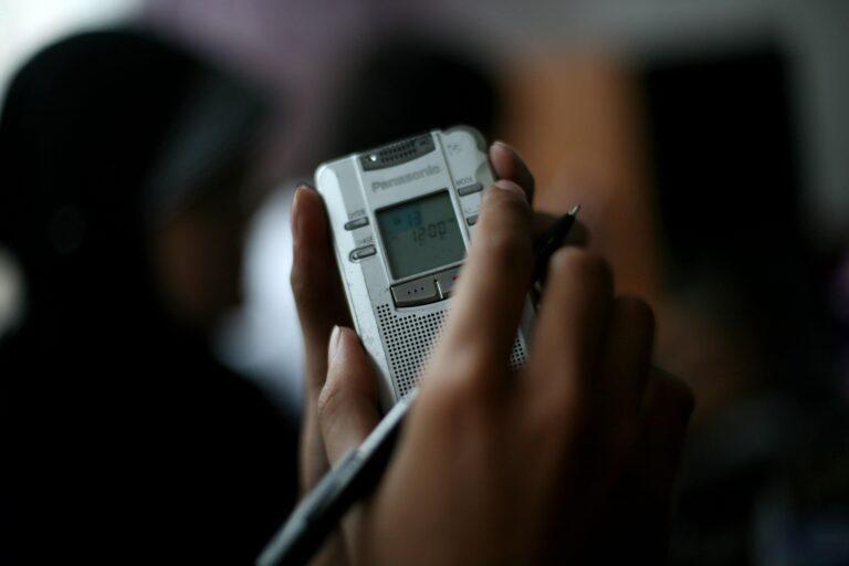 Panasonic recorder.