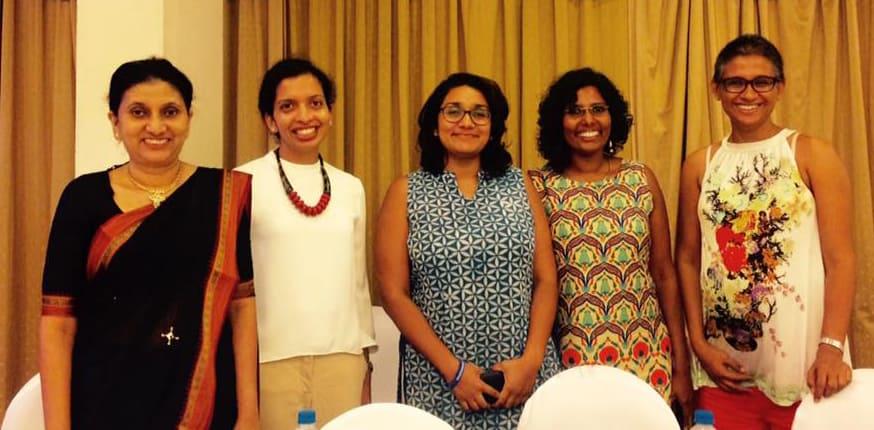 The five women presenters