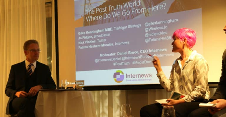 The Post Truth World: Where do we go from here?