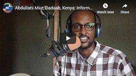 Screenshot from Abdullahi's video