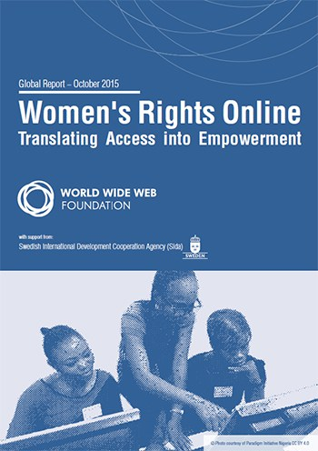 Cover of the publication Women's Rights Online