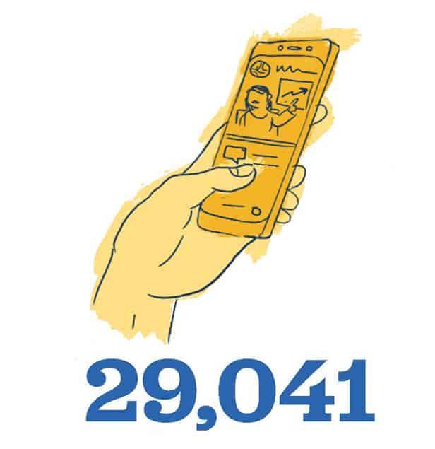 Hand holding cellphone - 29,041