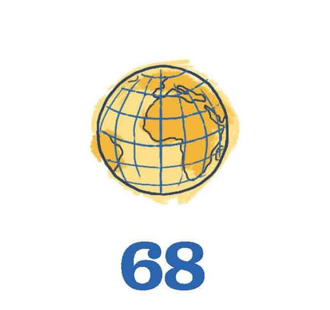 Globe - 68
