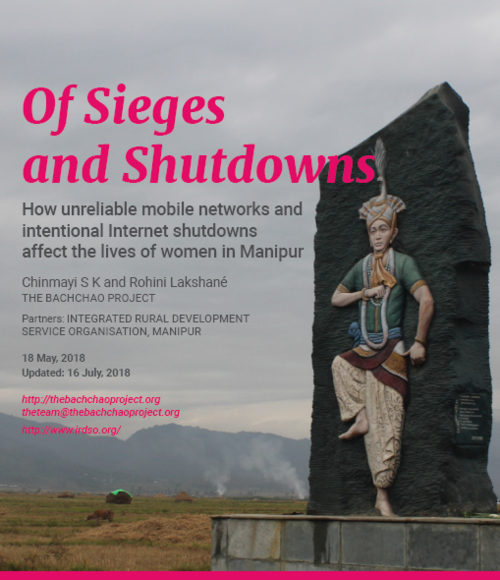 Report cover: Of Sieges and Shutdowns.
