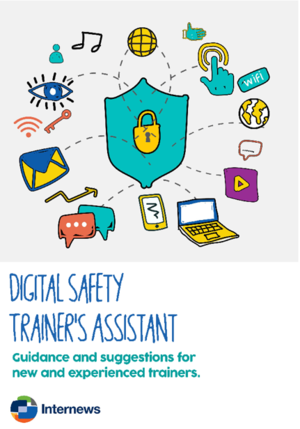 Report cover: Digital Safety Trainer's Assistant