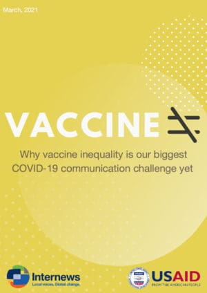 Vaccine Inequality: Why Vaccine Inequality is our Biggest COVID-19 Communication Challenge Yet