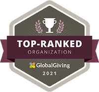 Top-Ranked Organization - GlobalGiving 2021