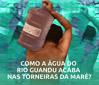 Como a agua do rio guandu acaba nas torneiras da mare?