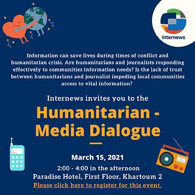 Humanitarian media dialogue