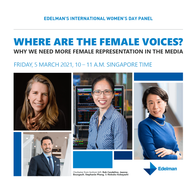 Where are the Female voices?