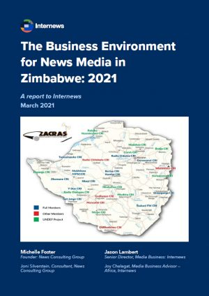The Business Environment for News Media in Zimbabwe: 2021
