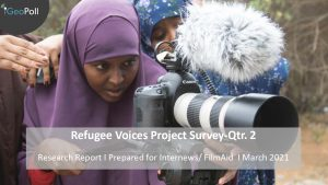 Refugee Voices Project Survey - Quarter 2