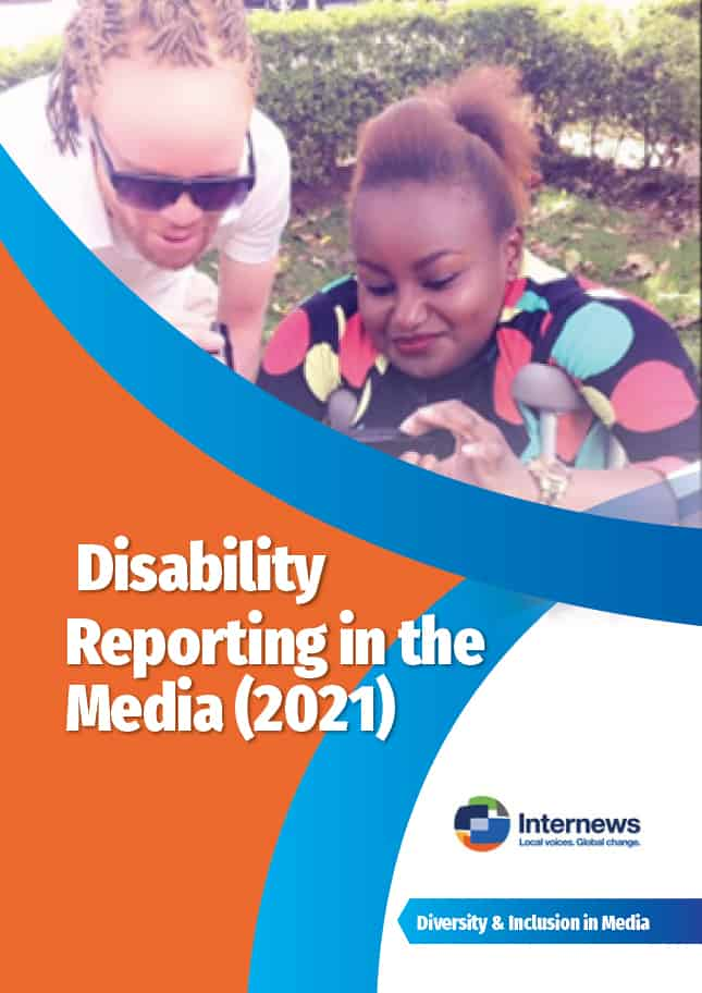 Disability Reporting cover - English
