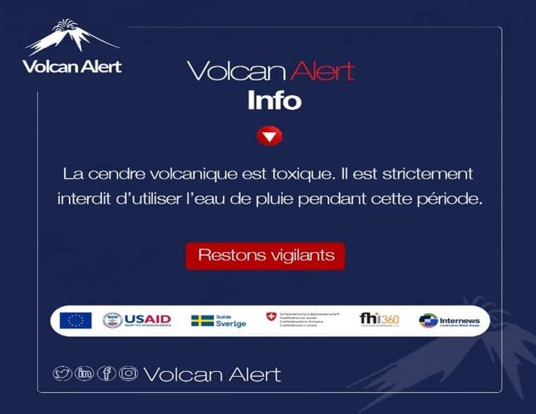 Volcan Alert Info - in French