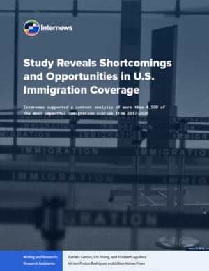 Study Reveals Shortcomings and Opportunities in U.S. Immigration Coverage
