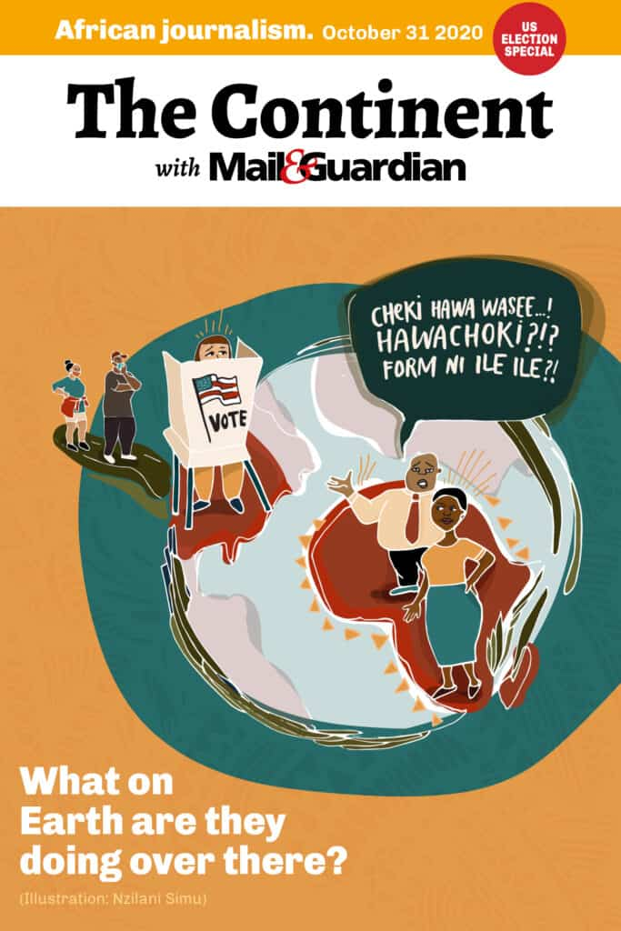 The Continent with Mail & Guardian - cover