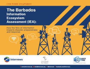 The Barbados Information Ecosystem Assessment - Snapshot
