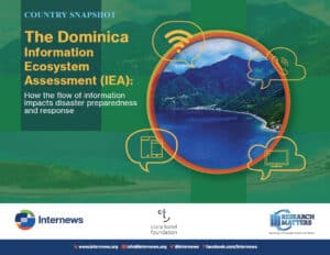 The Dominica Information Ecosystem Assessment - Snapshot