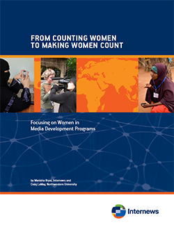 Cover: From Counting Women to Making Women Count