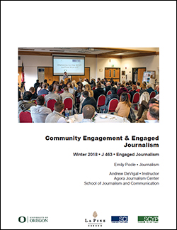 Cover: Community Engagement & Engaged Journalism