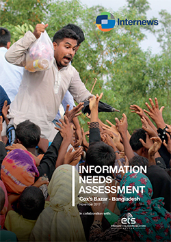 Cover: Information Needs Assessment: Cox's Bazar - Bangladesh