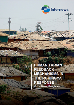 Cover: Humanitarian Feedback Mechanisms in the Rohingya Response