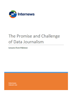 Cover: The Promise and Challenge of Data Journalism