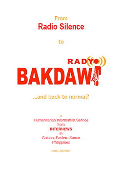 Cover: From Radio Silence to Radyo Bakdaw ...and back to normal