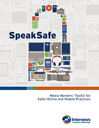 Cover: SpeakSafe - Media Workers' Toolkit (in English)