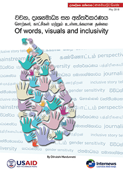 Cover: Of words, visuals and inclusivity