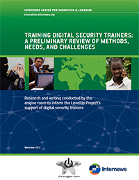 Cover: Training Digital Security Trainers