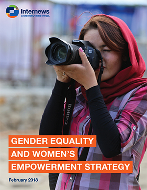 "Cover of the report, ""Gender Equality and Women's Empowerment Strategy"""
