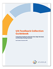 Cover of the UX guidebook