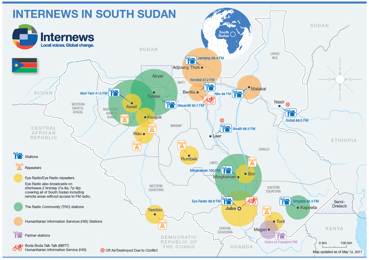 South Sudan | Internews