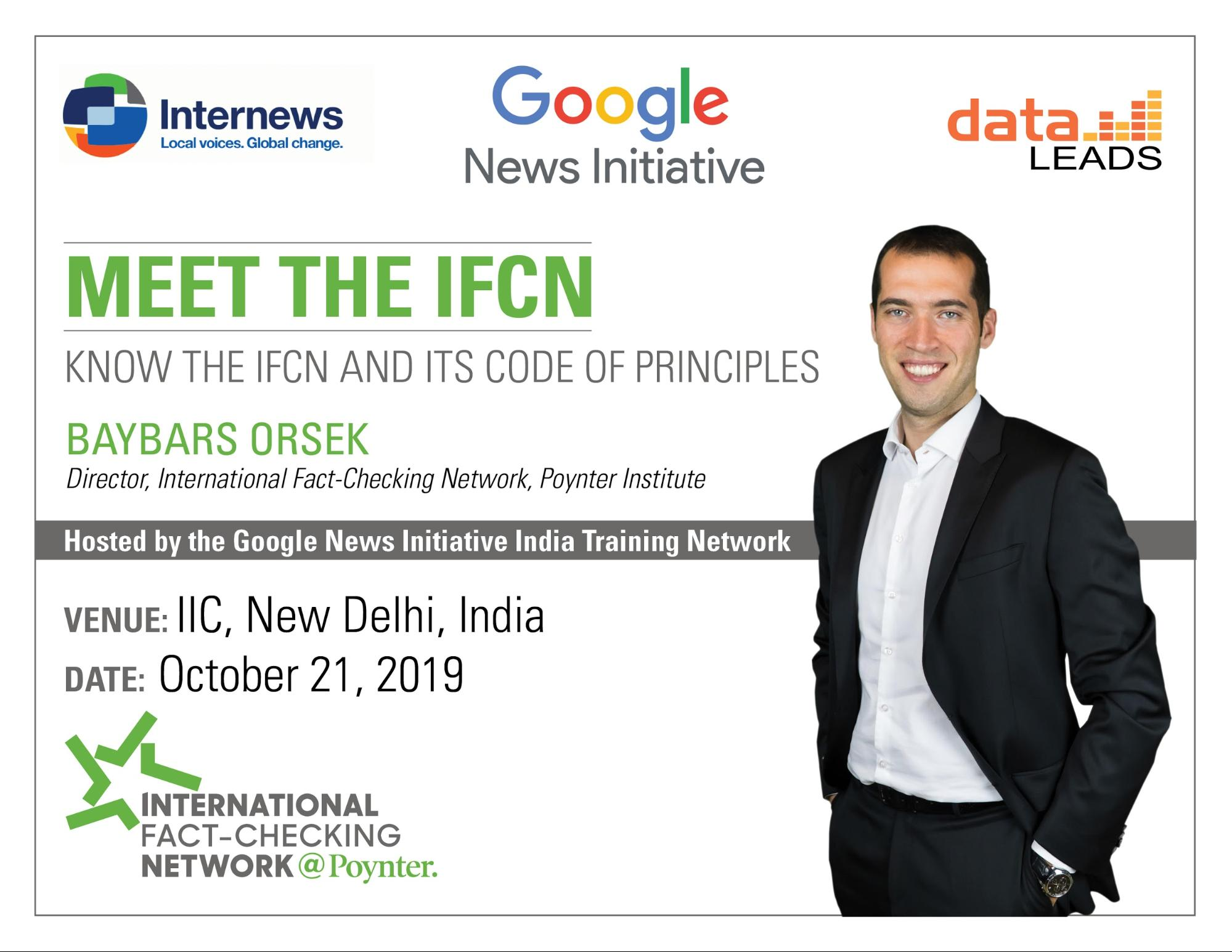 IFCN - Internews - Google News Initiative - Data leads