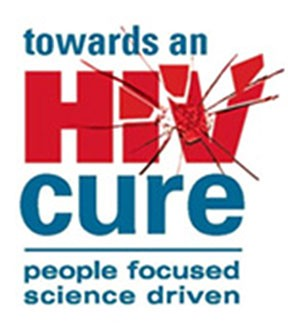 Logo - Towards an HIV cure - people focused, science driven