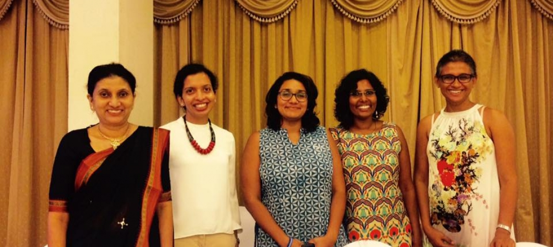 The 5 women speakers at the event