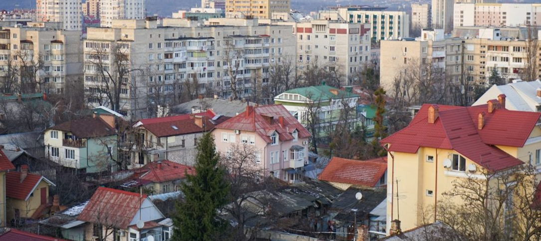 View of the city of Chisinau, Moldova