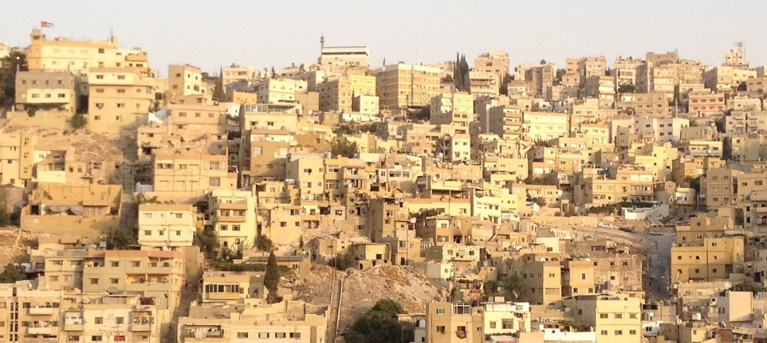 view of old part of Amman