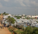 Refugee camp in South Sudan