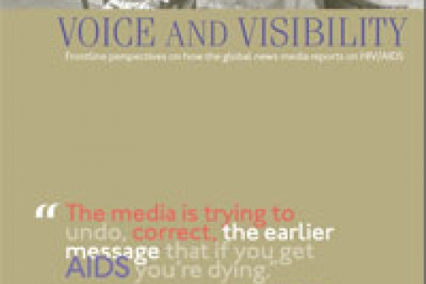 Cover: Voice and Visibility: Frontline perspectives on how the global news media