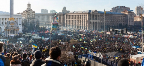 Protests at Ukraine's Maidan Square