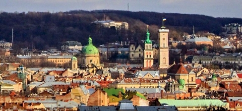 View of Lviv, Ukraine
