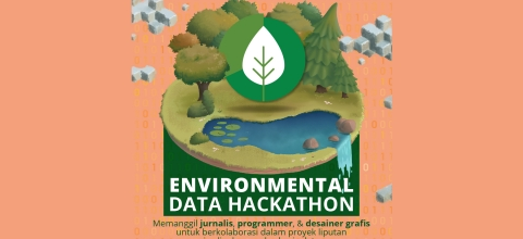 Flyer of data hackathon