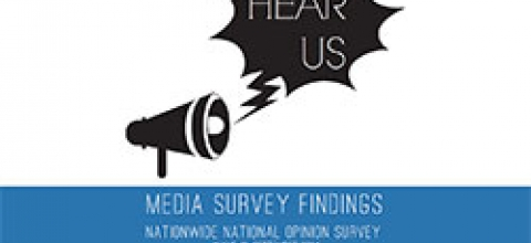 Cover: Hear Us: Media Survey Findings