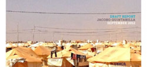 Cover: Humanitarian Information Needs Assessment: Zaatari Refugee Camp, Jordan