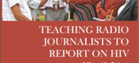 Cover: Teaching Radio Journalists to Report on HIV