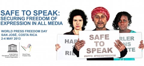 World Press Freedom 2013